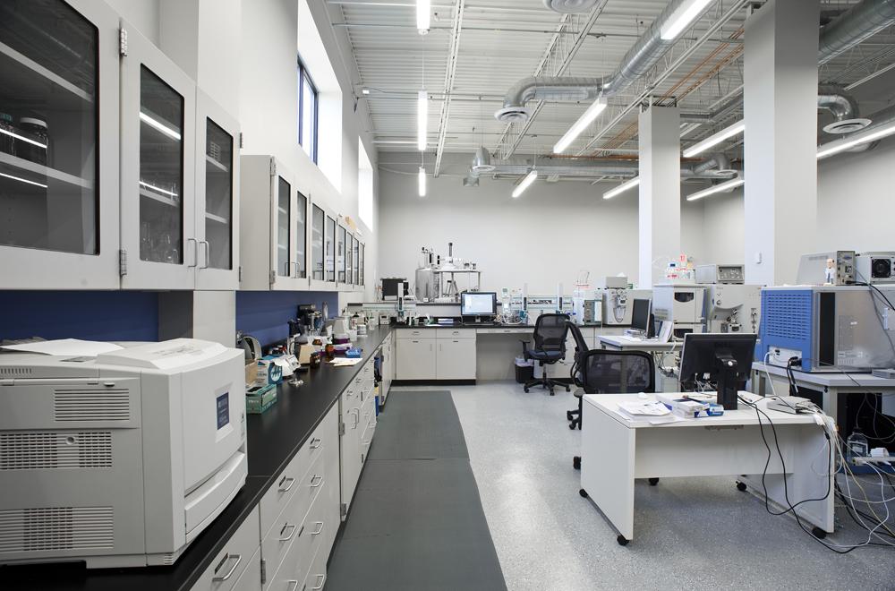 Sample preparation area